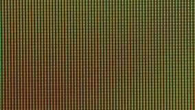 LCD-Bildschirm-Pixel stock video footage