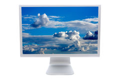 LCD computer monitor Stock Photography