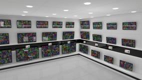 LCD de schermen stock footage