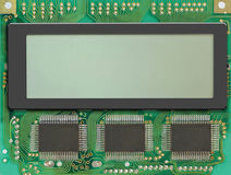 LCD display. For you own text Stock Photography