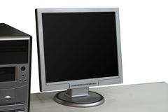 Lcd display Stock Photo