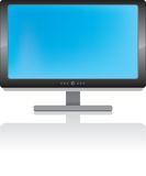 LCD display. In vector file Royalty Free Stock Photo
