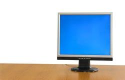 LCD display monitor stock image