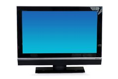 LCD ekran TV Obrazy Stock