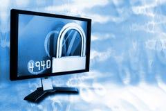 LCD en extracto imagenes de archivo
