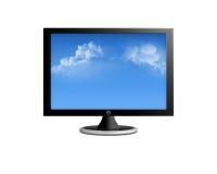 Lcd-Fernsehapparat Lizenzfreies Stockbild