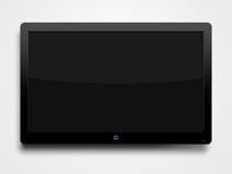LCD flat screen. On the wall Royalty Free Stock Images