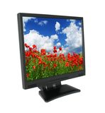 LCD with gorgeous landscape #2 Stock Photography