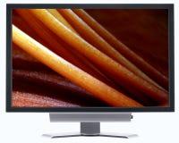 LCD het scherm Royalty-vrije Stock Afbeeldingen