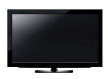 LCD het scherm van TV Stock Foto's