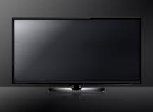 LCD het scherm van TV Stock Afbeelding