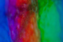 LCD Macro. Close up on lcd Stock Photography