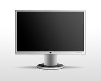 Lcd monitor. Abstract wide screen lcd monitor Stock Image