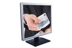 Lcd monitor Royalty-vrije Stock Foto's