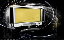 Free LCD Monitor Royalty Free Stock Image - 16028066