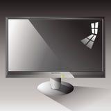 lcd monitor Obrazy Royalty Free