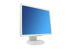 Lcd monitor Stock Photo