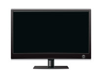 Lcd monitor. Vector image of lcd monitor stock illustration