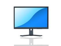 LCD monitor Royalty Free Stock Photo