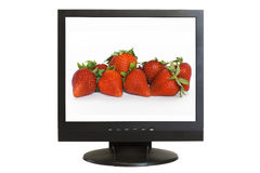 LCD monitor Stock Photos