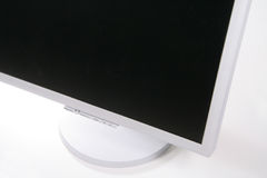 Lcd monitor. Isolated Stock Photo