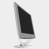 LCD monitor. Rendered LCD monitor royalty free illustration