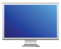LCD Monitor. Cool lcd monitor in vector vector illustration
