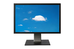 LCD monitor Royalty Free Stock Photos
