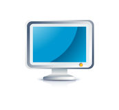 Lcd monitor icon Stock Photo