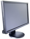 LCD monitor isometric view Stock Image