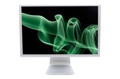 lcd monitor komputera Zdjęcie Stock