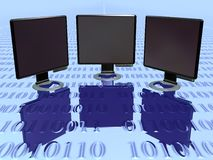 Lcd Monitor vol 3 Stock Photos