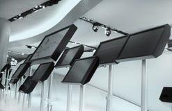 LCD Monitors Stock Afbeeldingen