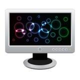 lcd monitoru biel Obraz Stock