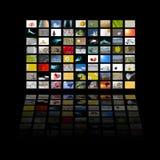 LCD paneel Stock Afbeeldingen