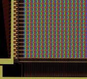 LCD paneelstructuur Royalty-vrije Stock Foto's