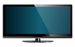Lcd plasma tv Royalty Free Stock Photo