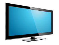Lcd plasma tv Stock Photo