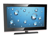 Lcd plasmaTV Stock Foto's