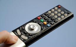 lcd-remote för 09 kontroll Arkivbild