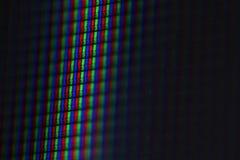 LCD RGB - Макрос Стоковые Изображения
