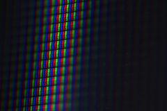 LCD RGB - Macro Stock Images