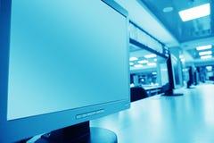 计算机lcd s 免版税库存图片