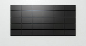 LCD Screen Collection Royalty Free Stock Photos