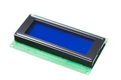 LCD Screen - Electronics Stock Image