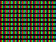 LCD screen micrograph Stock Image
