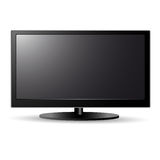 Lcd screen tv Stock Image
