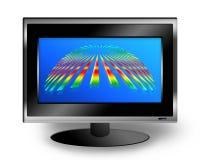 lcd-skärm stock illustrationer
