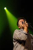 LCD Soundsystem band performs at Barcelona Stock Images