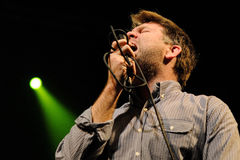 LCD Soundsystem band performs at Barcelona Stock Photos
